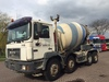 MAN 32.403 8x4 full steel mixer - Betonmischer