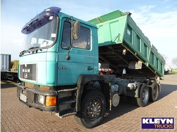 Kipper MAN 26.372 6X4, MANUAL