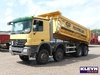 Mercedes-Benz ACTROS 4141 - Kipper