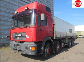 Pritsche LKW MAN FE 35.464 8X4 MANUEL AIRCO FULL STEEL SUSPENSION