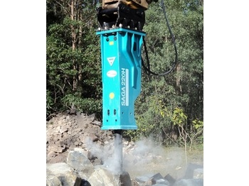 Hydraulikhammer MSB BRH rock breakers for 1 to 60 tons excavators