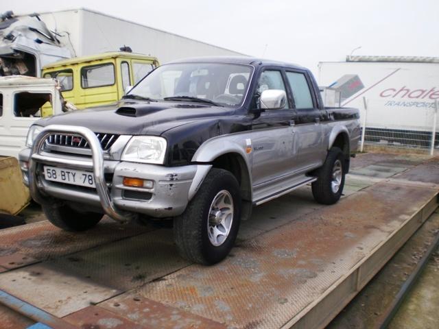 mitsubishi l200 4x4 pick up pkw gebraucht kaufen, baujahr 2000 bei