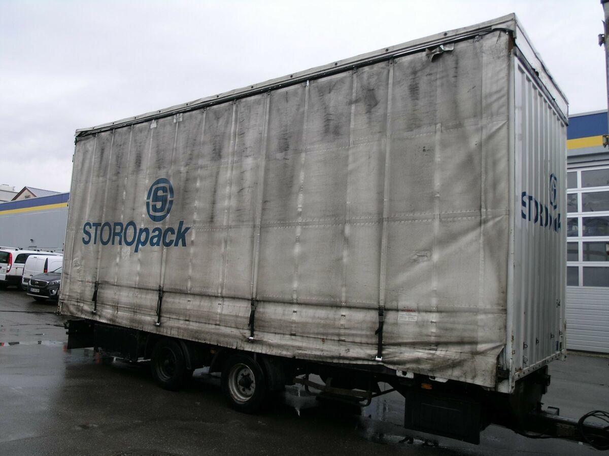 Container/ Wechselfahrgestell Anhänger Dinkel BDF Volumen Jumbo Tandem TÜV 5/18  7.190 kg NL!