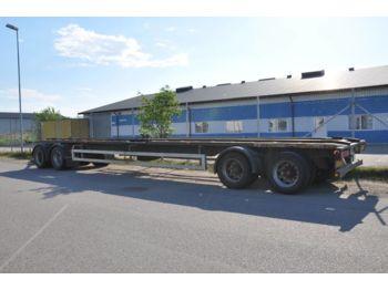 Container/ Wechselfahrgestell Anhänger  MK SLÄP VÄXLAR SLÄP 4AXL