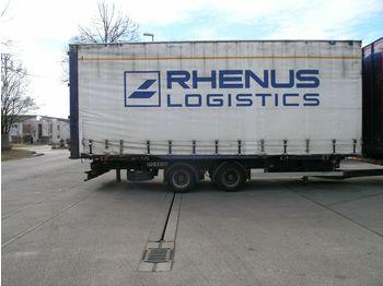 Container/ Wechselfahrgestell Anhänger Wecon AWZ - BDF Volumen / Jumbo Wechselanh. TÜV 12/18