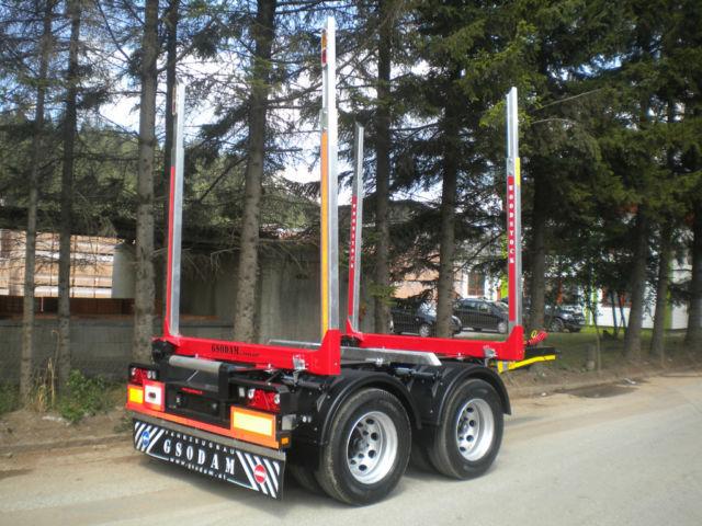 Lieblings Neuer Anhänger GSODAM Tandem Holzrungen-Anhänger ab 2.650kg!! zum #DM_02