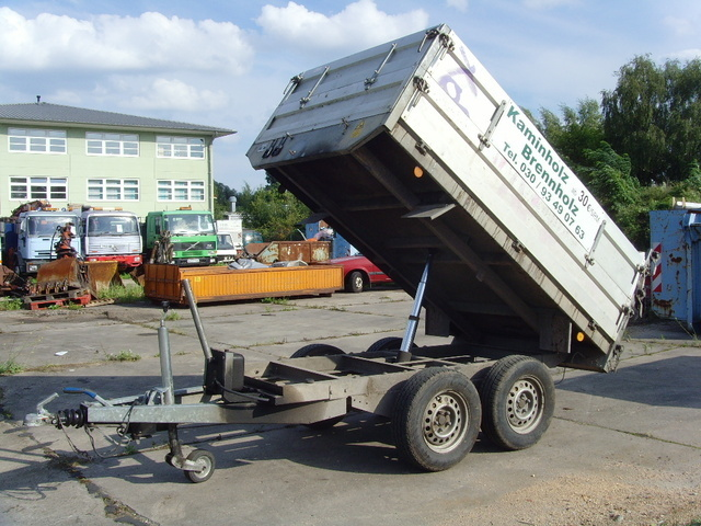 Boeckmann Crk Tandemachse Kipper Kipper Anhanger Gebraucht Kaufen Preis 2700 Eur Baujahr 2001 Bei Truck1 694775
