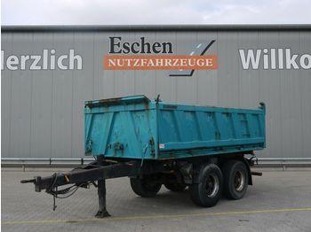 Kipper Anhänger Meiller MZDA 18/21 3-S-Kipper, HU 5/2022, BPW, Stützbein