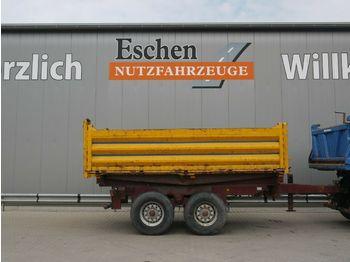 Kipper Anhänger Schütte Tandem, 11m³, Blatt