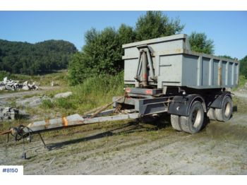 Triolift 2 axle tipper trailerwith spreading limb - Kipper Anhänger