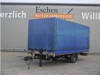 Plane Anhänger Spier ZPL155 Anhänger Pritsche / Plane, BPW-Achsen