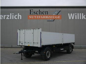Pritschenanhänger/ Plattformanhänger Krone AZP 18 Pritsche, Zurrschiene, BPW,  7100mm i.L.