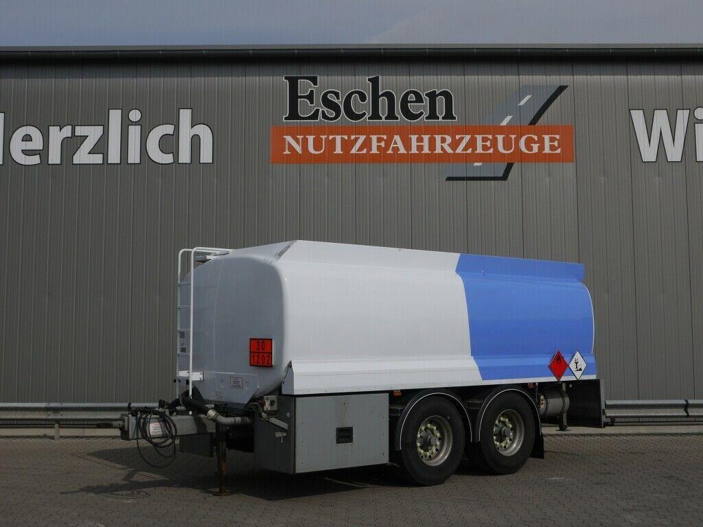 Tank Anhänger Lindner & Fischer TAH 187ZA/A3, Oben/Unten, LGBF