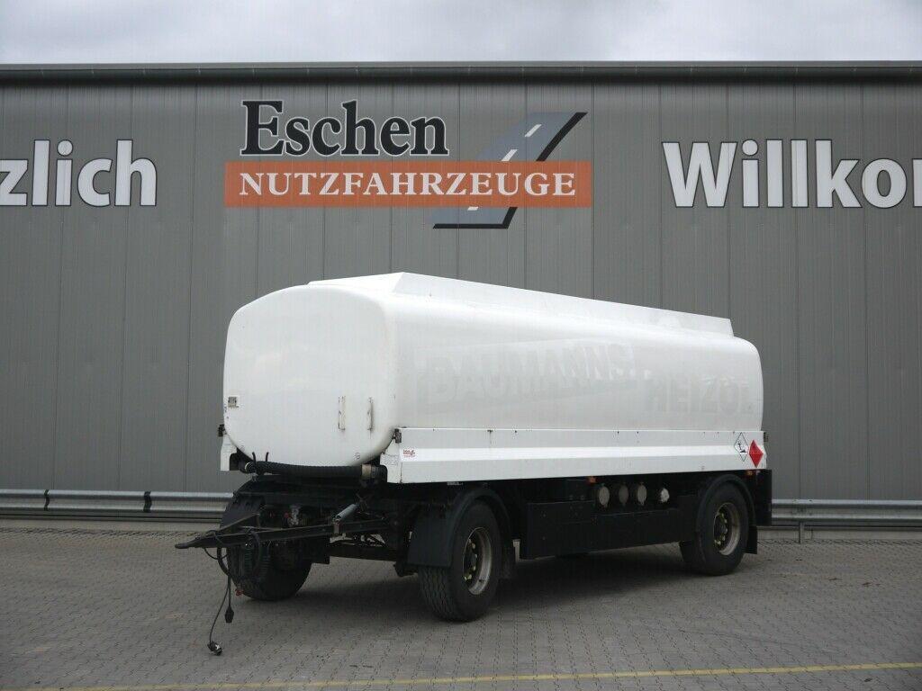 Tank Anhänger Lindner & Fischer TAH 215L A3,Oben/Unten,21.800l