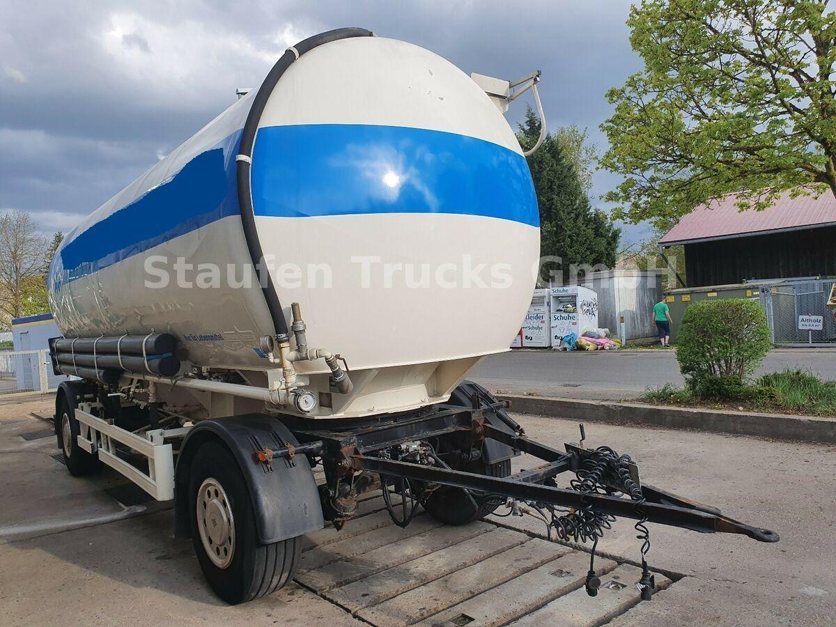 Tank Anhänger Spitzer 4-Kammer ALU-Lebensmittelsilo  2 bar 32.000 lit