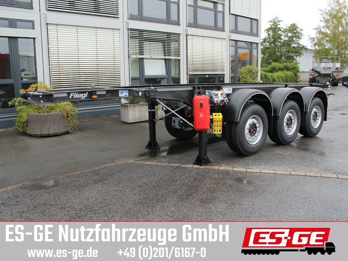 Container/ Wechselfahrgestell Auflieger Fliegl 3-Achs-Containerchassis 20ft