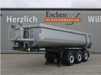 Kipper Auflieger Carnehl 24 m³ Hardox Stahlmulde, Podest, SAF, Rollplane
