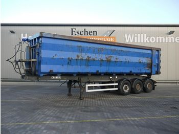 Kipper Auflieger Carnehl WDE 48m³ Stahl, Luft-Lift, Plane, Podest, SAF