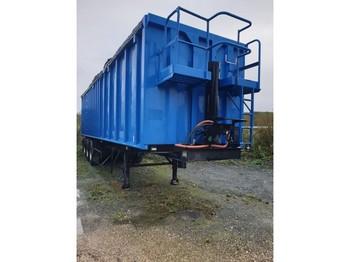 Kipper Auflieger Kaiser 3 axles - 60 cubic - steel suspensions lames