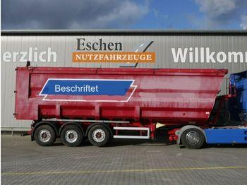 Kipper Auflieger Kempf SKM 35/3, 51 m³ Stahlmulde, Leichtmetallfelgen