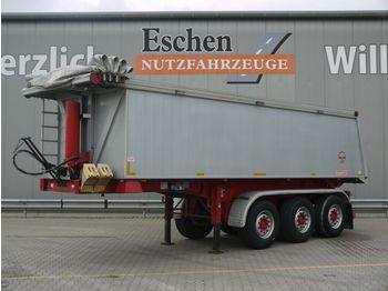 Kipper Auflieger Langendorf SKA 24/29 Alu 27m³ Kipper*HU5/22*Cramaro*Heizung