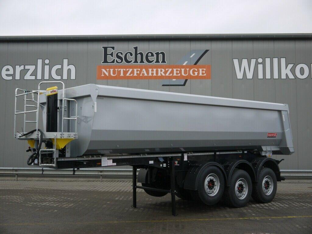 Kipper Auflieger Langendorf SKS *NEU*25m³ Stahl*Pendelklappe*Luft/Lift*Plane