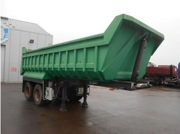 Kipper Auflieger Lecinena UNUSED - 2 axles tipper - steel susp - drum brakes - 18 m³