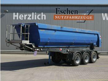 Kipper Auflieger Meiller 27m³ Stahlmulde, BPW, Luft/Lift