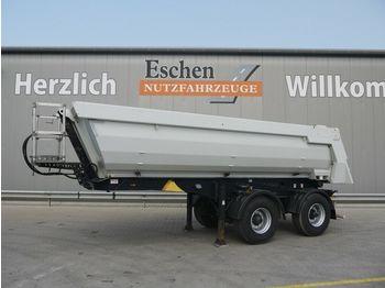 Kipper Auflieger Meiller KISA 2,Stahl, Luft/Lift, hydr. Klappe, 2x Kamera