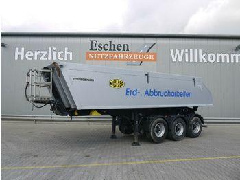 Kipper Auflieger Meiller Kisa 3-Achs 23 m³ Alu-Kastenmulde, BPW,Luft/Lift