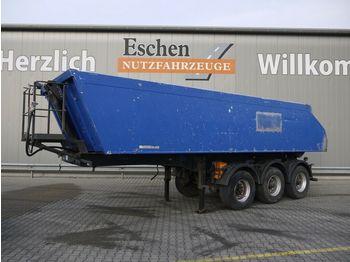 Kipper Auflieger Meiller MHKS41/3, 24m³ Alu, Plane, Podest, Luft/Lift,BPW