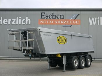 Kipper Auflieger Meiller MHK 44.3N 27m³Alu*5100kg*Luft/Lift*7mm*AluFelgen