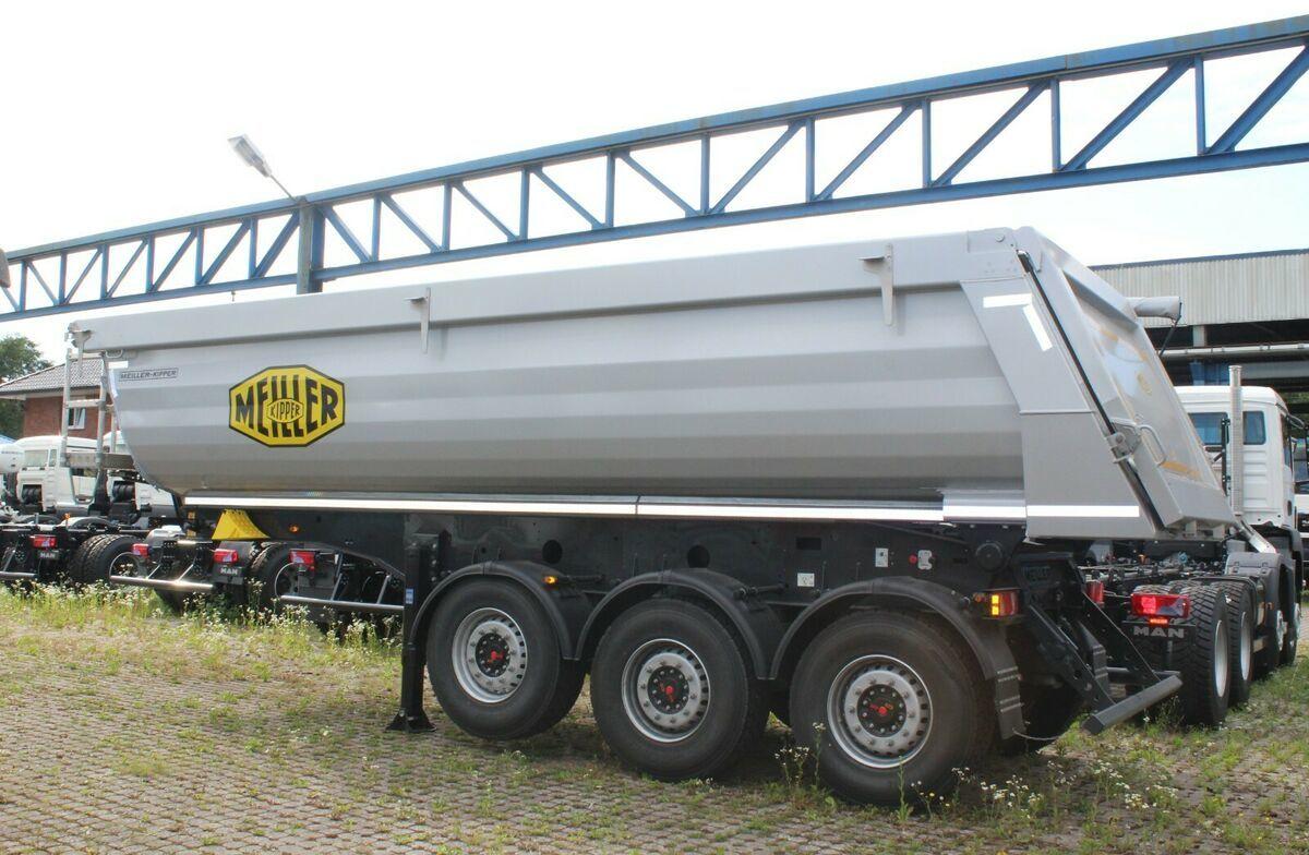 Kipper Auflieger Meiller MHPS 44/3 N  25m³ Stahl Mulde