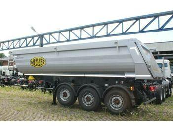 Kipper Auflieger Meiller Meiller MHPS 44/3 N 25m³ Stahl Mulde