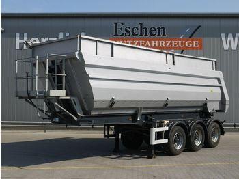 Kipper Auflieger Meiller TR3, 36m³ Alu Halbschale, Luft/Lift, BPW