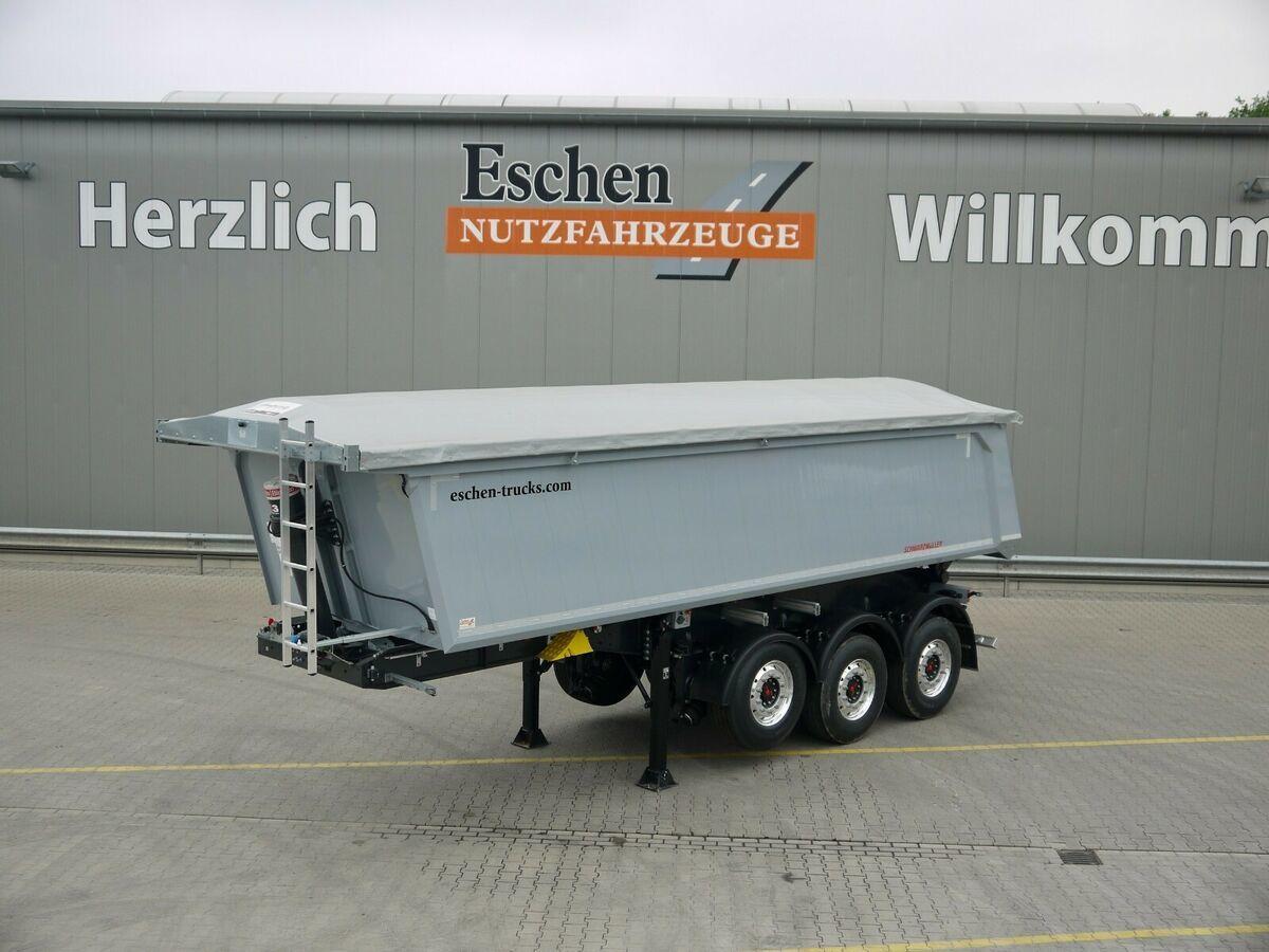 Kipper Auflieger Schwarzmüller 3-Achs 25 m³ Alu Kastenmulde,elektr. Funkverdeck
