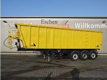Kipper Auflieger Stas SA 336K, 45m³, Voll-Alu, Luft-Lift, Pendelklappe