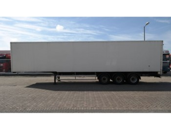 Koffer Auflieger H.T.F. 3 AXLE CLOSED BOX TRAILER