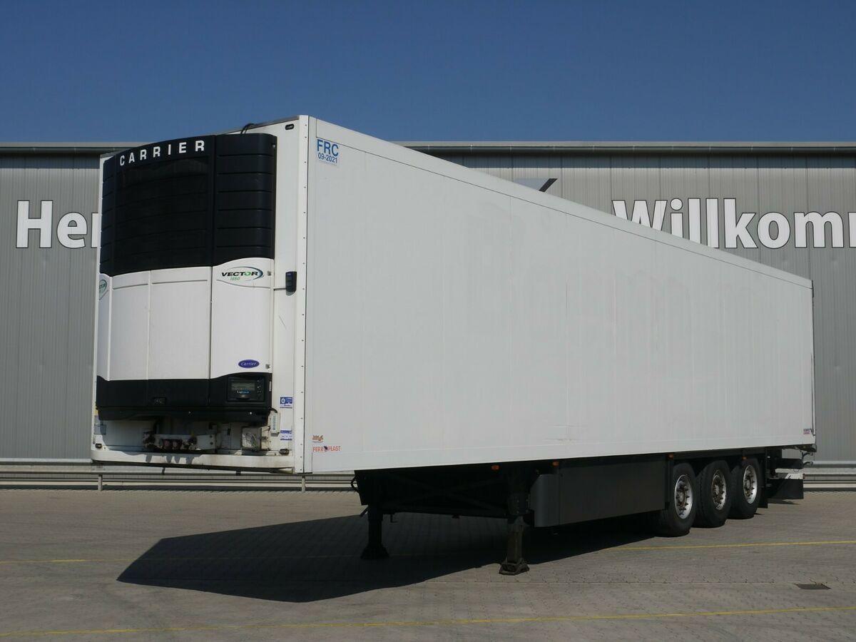 Kühlkoffer Auflieger Schmitz Cargobull SKO24 Kühl*Rohrbahnen*Fleisch*CarrierVector 1850
