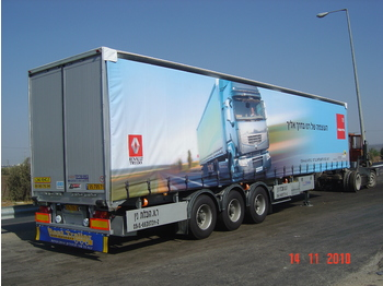 CASELLI CASELLI CURTAINSIDER - CLOSED BOX - Plane Auflieger