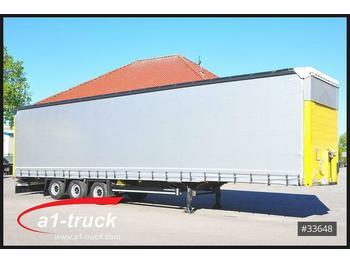 Plane Auflieger Schmitz Cargobull S01 Megatrailer, Kilometer 287.020 HU 07/2021