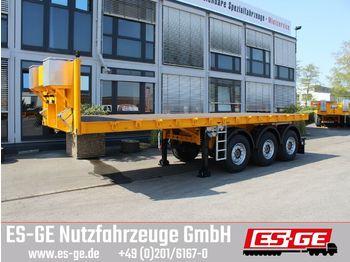Plattform Auflieger ES-GE 3-Achs-Ballastauflieger