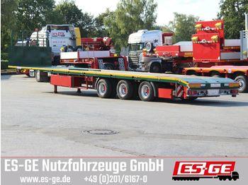 Plattform Auflieger ES-GE 3-Achs-Megatrailer - teleskopierbar