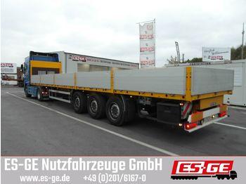 Plattform Auflieger ES-GE 3-Achs-Sattelanhänger - Bordwände - CV