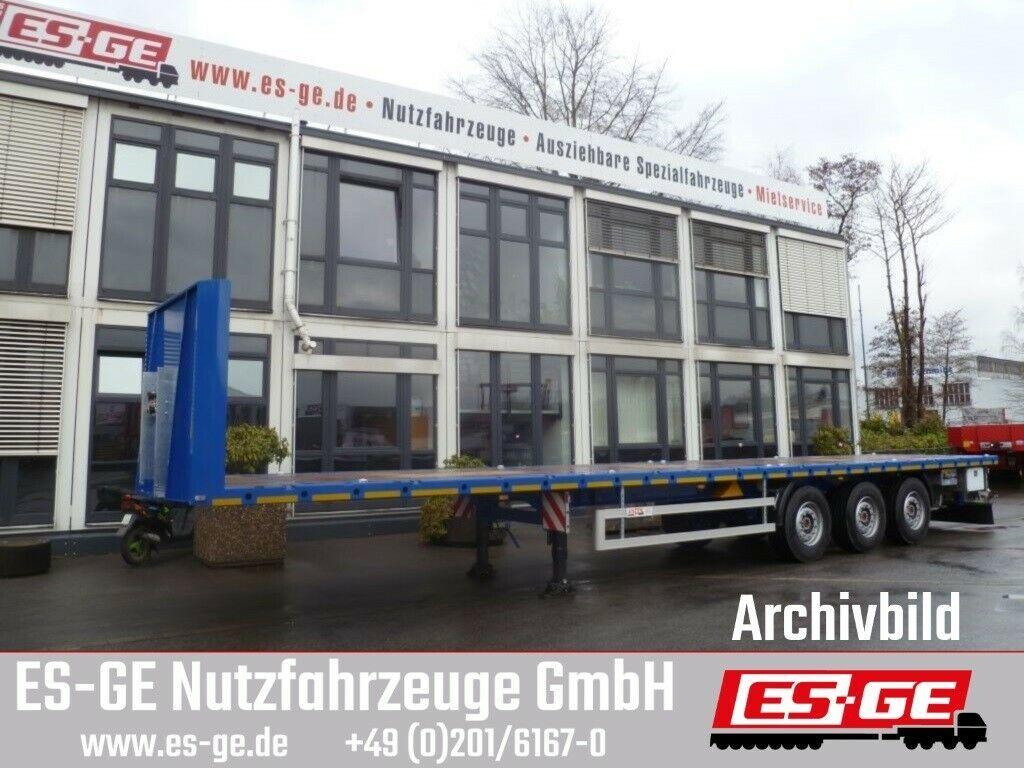 Plattform Auflieger ES-GE 3-Achs-Sattelanhänger - Rungen - CV
