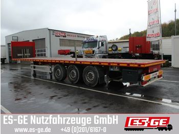 Plattform Auflieger ES-GE 3-Achs-Sattelauflieger