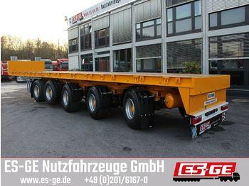 Plattform Auflieger ES-GE 5-Achs-Ballastauflieger