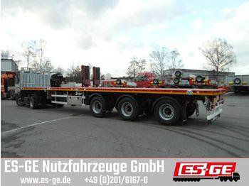Plattform Auflieger Faymonville MAX Trailer 3-Achs-Teleauflieger - hydr. gelenkt