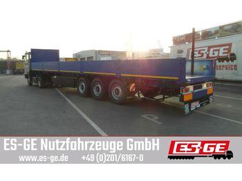 Plattform Auflieger Kögel 3-Achs-Multi-Sattelanhänger - Bordwände
