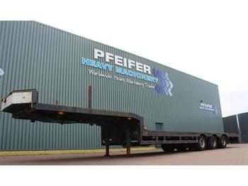 Plattform Auflieger Lintrailers 3LS-DU.18.27 3 axle extendable trailer